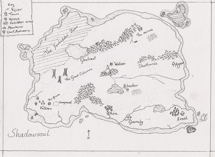 Shadowsoul Map