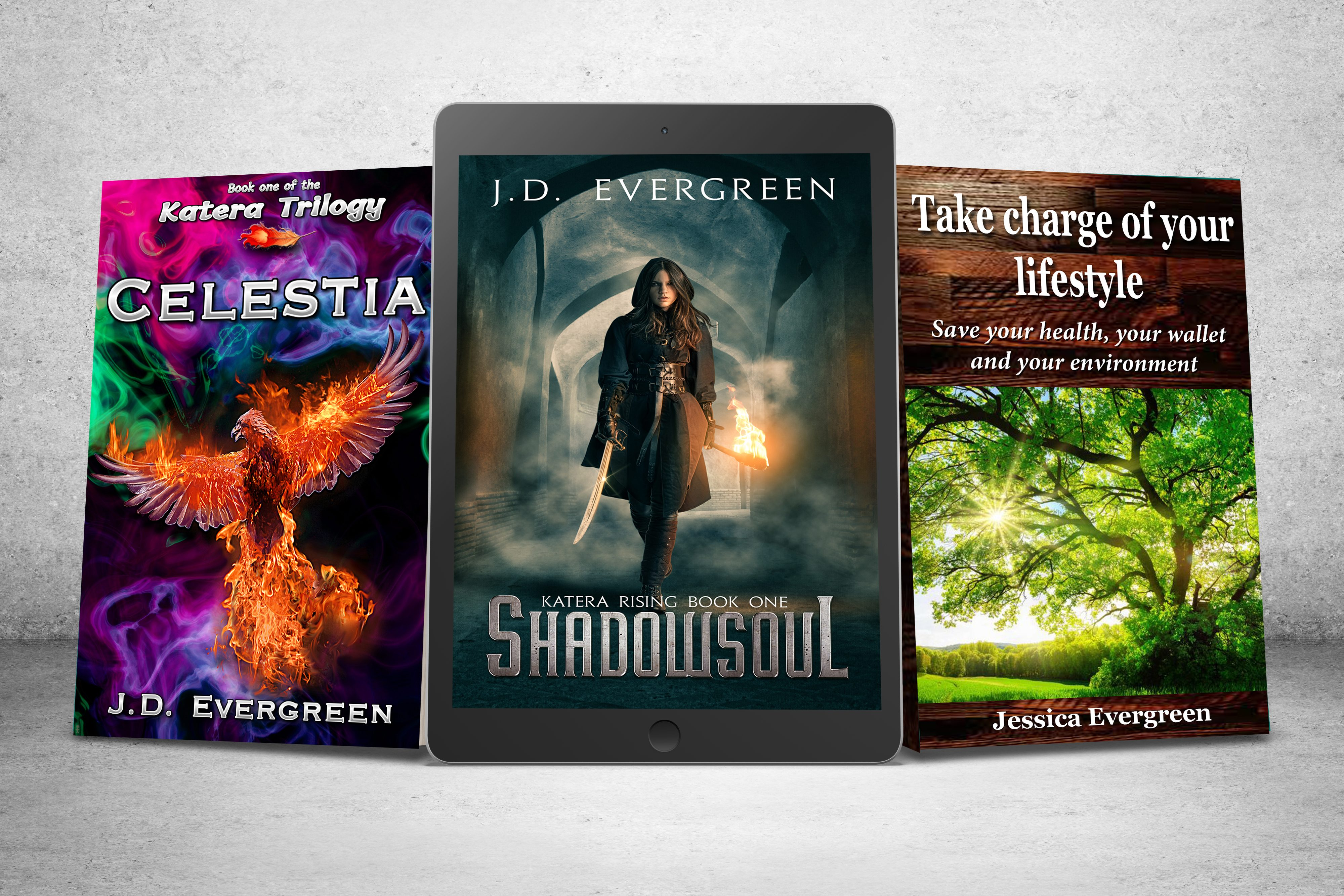 Books by J.D.Evergreen